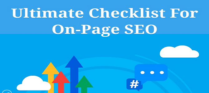 Ultimate Checklist For On-Page SEO